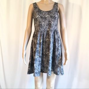 Hot Topic Black and White Sundress